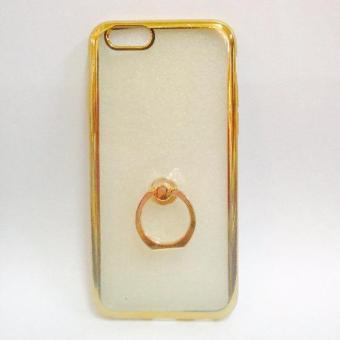 Harga Nice TPU Case with Ring Stent for Iphone 5/5s (Gold)