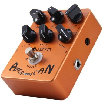 Harga JOYO JF - 14 True Bypass Design American Sound Amp Simulator Electric Guitar Effect Pedal???Brown??‰