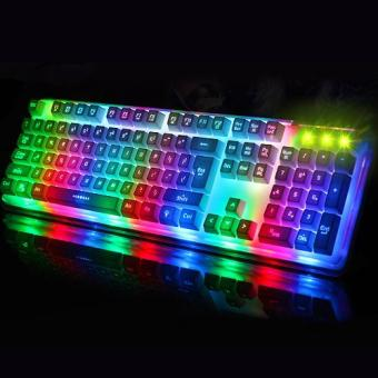 Gigaware Midio RX-8 Dazzle Mechanical Feel Gaming Keyboard Price Philippines