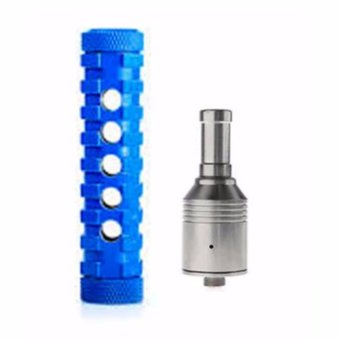 Ar Mod V1.5- USA Made Mechanical Mod w/free battery, charger and atomizer (Blue) Price Philippines