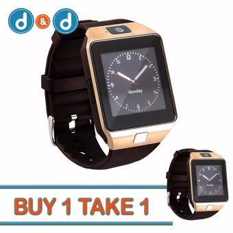Harga D&D DZ09 Bluetooth Touch Screen Smart Watch with Camera Buy 1 Take 1