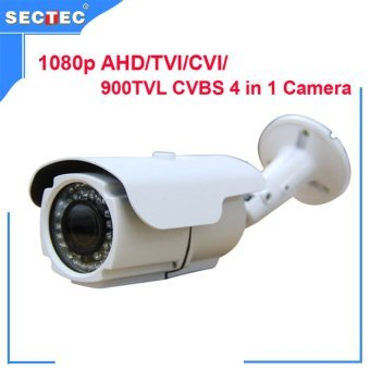 1080P AHD/TVI/CVI/ 900TVL CVB camera 4 in 1 with OSD, HD 3MP 2.8-12 mm manual zoom lens IP66 Waterproof IR Camera 1080P CCTV Cam Price Philippines