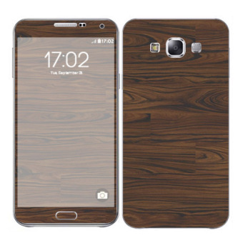 Oddstickers Wood 5 Skin Cover for Samsung Galaxy E7 Price Philippines