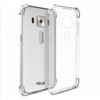 German Import Silicone Shockproof Case for ASUS Zenfone 3 (5.2) (ZE520KL) (Clear) Price Philippines