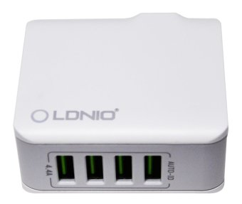 LDNIO A4403 Charger 4port auto-ID Charger Price Philippines