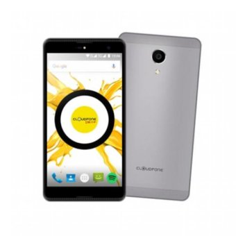 Harga Cloudfone Thrill Plus 16GB (Grey) with Free Spotify Earphones, Protective Cover and Kickstand