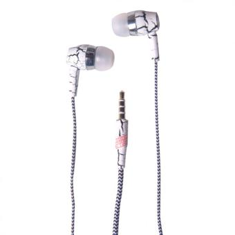 3 in 1 In - Ear Headphone with Mic and Answering Call Function (White) Price Philippines
