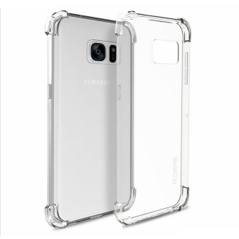 Harga German Import Drop Resistant Silicone Clear Case for Samsung Galaxy S7 (Clear)