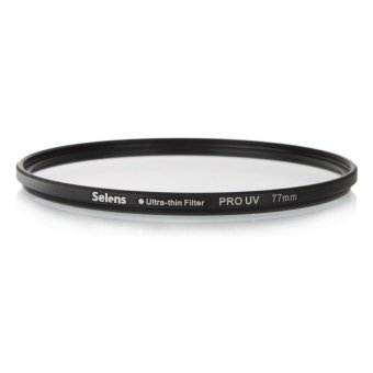 Harga Selens PRO 77mm Ultra-thin UV lens Filter Protector for Nikon Canon Sony Camera