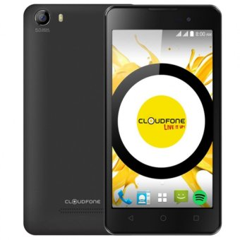 Harga CloudFone Excite 8GB (Black) with Free Spotify Earphones