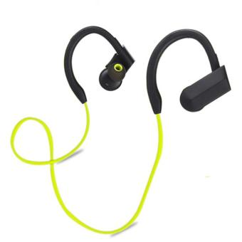 Harga Wireless Bluetooth Sports Stereo Headset Headphone Earphone For SmartPhone Yellow