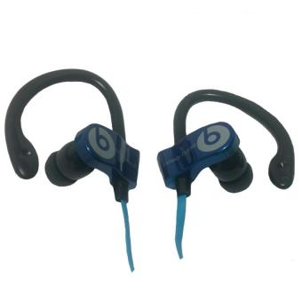 Harga Beats by Dr. Dre Power Beats Monster Stereo Earphones MD-A109 (Blue)