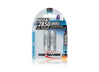 Ansmann NiMH-LSD AA x2 Blister Pack 2850 mAh Rechargeable Battery Price Philippines