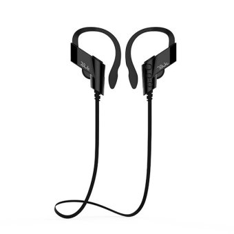 Bluetooth Headset Wireless Sport Earphone With High Quality Music (Black) - Intl Price Philippines
