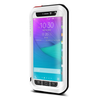 Harga LOVE MEI Note Edge for SAMSUNG Galaxy Note Edge N9150 (White) - intl