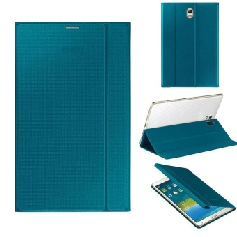Harga Ultra Slim Leather Cover Case For Samsung Galaxy Tab S 8.4Inch T700 Blue(Blue) - intl