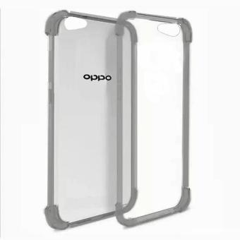 German Import Shockproof Silicone Clear Case for Oppo A39 (Smoke Grey) Price Philippines