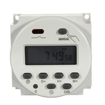Harga New 110V/220V AC Timer Digital LCD Power Programmable Time Switch 16A Relay