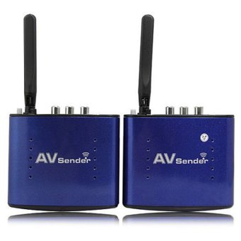 5.8GHZ 8 Channel 200m 20m Wireless Audio Video AV SD TV Sender Transmitter & Receiver Remoter black Price Philippines