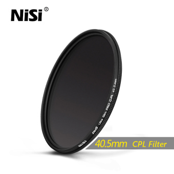 Harga NiSi 40.5mm CPL Filter Dus Slim Professional Ultra Thin C-PL Filters Polarizer Filter - intl