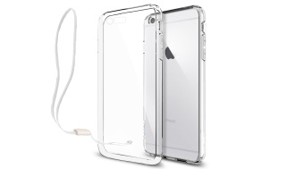 Harga Xundd Ultra Thin Silicone Case with Lanyard for Apple iPhone 6 Plus (Clear)