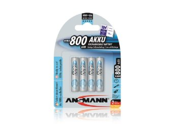Ansmann NiMH 800mAh Rechargeable Battery Blister Pack Price Philippines