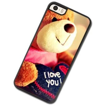 Harga Cute bear phone Case For Apple iPhone 4 4s - intl
