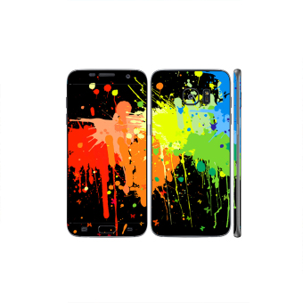 Oddstickers Abstract Paint Phone Skin Cover for Samsung Galaxy S7 Edge Price Philippines