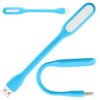 Flexible Bright Mini USB LED Light Computer Lamp for Notebook PC Laptop Reading (Yellow) Price Philippines