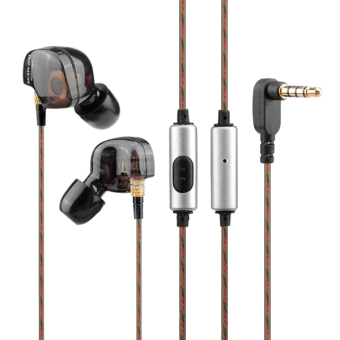 KZ ATE In-ear Heavy Bass HiFi Around Ear Earphone Headphone With Mic - intl Price Philippines