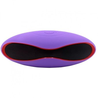 RugbyBall Style Mini-6XU Portable Bluetooth Speaker (lavander) Price Philippines