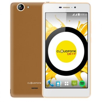 Harga Cloudfone Excite Prime 16GB (Brown) with Free Spotify Edition Earphones/ Back Cover Case/ Screen Protector