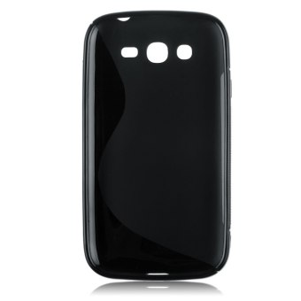 Harga S Line Soft TPU Gel Silicone Case Cover For Samsung Galaxy Grand Neo Lite i9060 Black