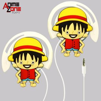 ANIME Chibi Monkey D. Luffy One Piece On-Ear Earphones Price Philippines