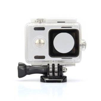 Kingma Waterproof Plastic Housing Case Shell for Xiaomi Xiaoyi Digital Camera - White Price Philippines