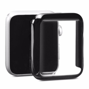 Harga 42mm Luxury Ultra Thin Electroplating Full Skin Case Cases Cover For iWatch - intl