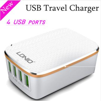 LDNIO A4404 4.4A 4 USB Port Travel Charger adapter Price Philippines