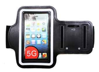 Harga Sports Armband for iPhone 5S (Black)