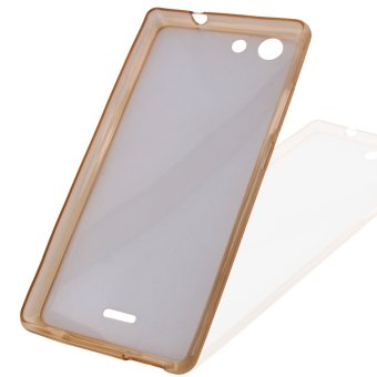Harga Great Deals TPU Thin Case for My 33 (Clear Light Brown)