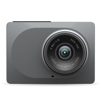 "Xiaomi Xiaoyi Smart Vehicle Traveling Data Recorder Camera ADAS 1080P 60fps 2.7"" Screen 165 Degree Grey - Intl Price Philippines"