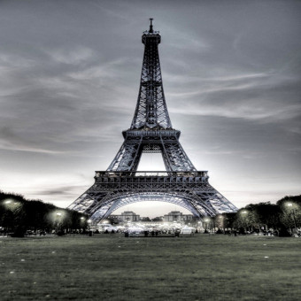 Harga 3x5Ft Photography Background Eiffel Tower Glassland Backdrop For Studio Prop New