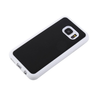 Harga Magical Nano Sticky Anti-gravity Phone Case For Samsung S7 White - intl