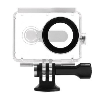 (IMPORT) EACHSHOT? 40m Underwater Waterproof Protective Housing Case For Xiaomi Yi Action Camera (White) Price Philippines
