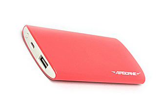 Airborne Tech-5001 5300mAh Slim Powebank (Pink) Price Philippines