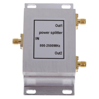 2-Way SMA-Type Power Divider Splitter 800-2500MHz for GSM CDMA 3G Booster Price Philippines