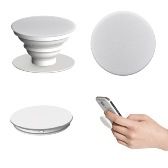 Combo PopSocket and PopClip Expanding Stand and Grip Mount (White) Price Philippines