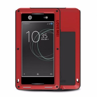 Harga LOVE MEI Powerful Luxury Doom Metal Armor Aluminum Coque Case FOR SONY Xperia XA1 Ultra - intl