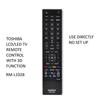 Antel RM-L1028 Toshiba LCD/LED TV Remote Control With 3D Function Price Philippines