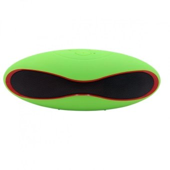 RugbyBall Style Mini-6XU Portable Bluetooth Speaker (YellowGreen) Price Philippines