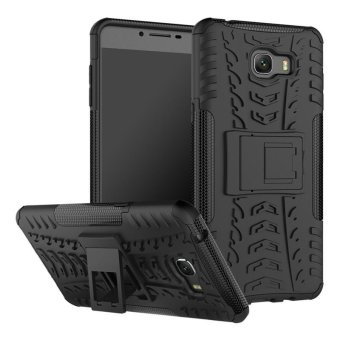 BYT Rugged Armor Dazzle Back Cover Case for Samsung Galaxy C9 Pro - intl Price Philippines